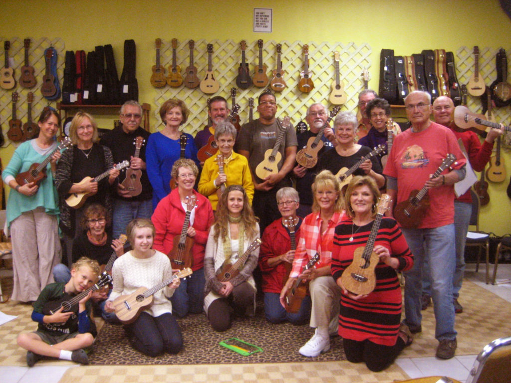 Level 1: Ukulele Made Simple for the Raw Beginner, Join from Anywhere, on Zoom